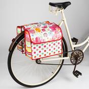 Cyklistická dvojitá taška na kolo