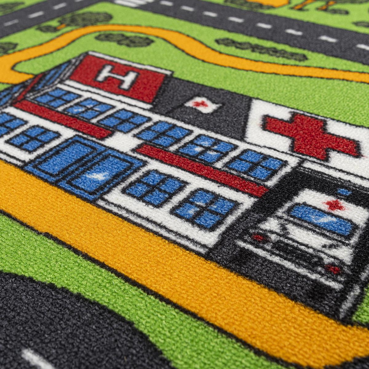 Produktové foto Vopi Dětský koberec City life, 140 x 200 cm