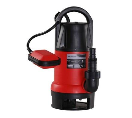 Kalové vodní čerpadlo Matrix WWP 800/13000, červená