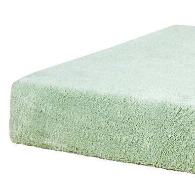 Prostěradlo z mikrovlákna, zelená, 2 ks 90 x 200 cm