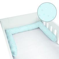 Ochraniacz do łóżeczka Kleiner Schatz niebieski, 180 cm
