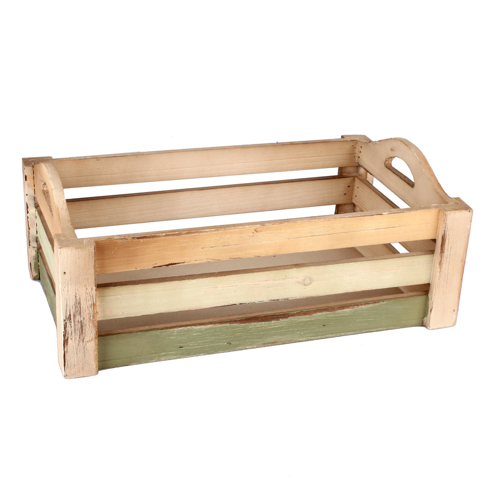 Dřevěna přepravka 38 x 25 x 13 cm JB280-2