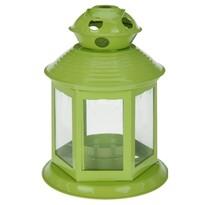 Lucerna na čajovou svíčku Linterne, zelená