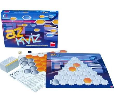 Hra AZ Kvíz, bílá + modrá