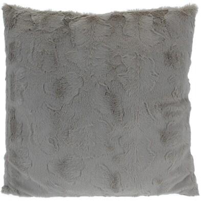 Vankúšik Ivory sivá, 45 x 45 cm