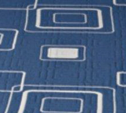 Přehoz na postel Amara, modrá, 160 x 220 cm