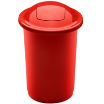 Aldo Top Bin szelektív hulladékgyűjtő kosár, 50 l, piros