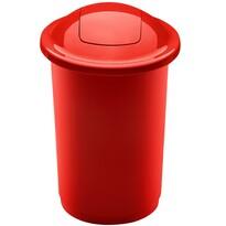 Coș de sortare deșeuri Aldo Top Bin, 50 l, roșu