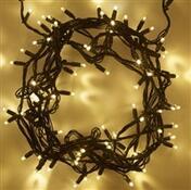 Vánoční LED řetěz teplá bílá 10 m