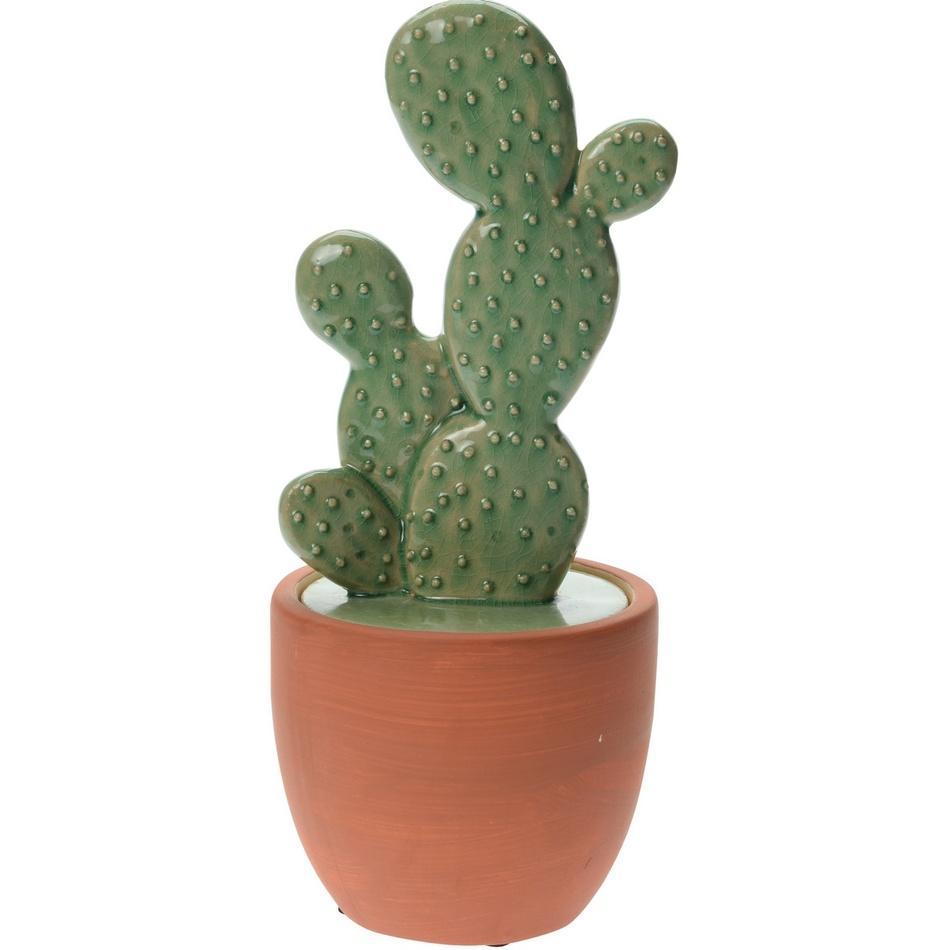 Keramický kaktus v květináči Guerrero