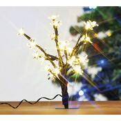 Dekorativní stromek s LED, 25 cm
