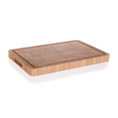 Banquet Prkénko krájecí dřevěné Brillante Rubberwood 38 x 25 x 3 cm