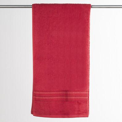 Osuška Verona, 70 x 140 cm, červená