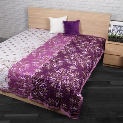 Alberica ágytakaró, lila, 240 x 200 cm