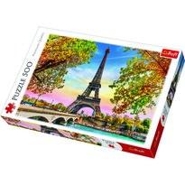 Trefl Puzzle Romantická Paříž, 500 dílků