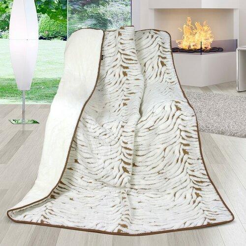 Vlnená deka DUO New Zealand Zebra, 155 x 200 cm