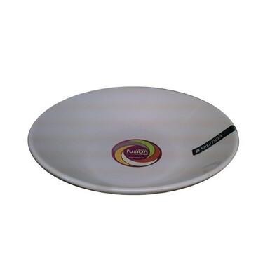 3dílná sada talířů na polévku smetanová