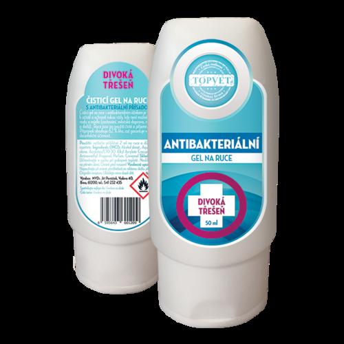 Topvet Antibakteriální gel na ruce Divoká třešeň 50ml