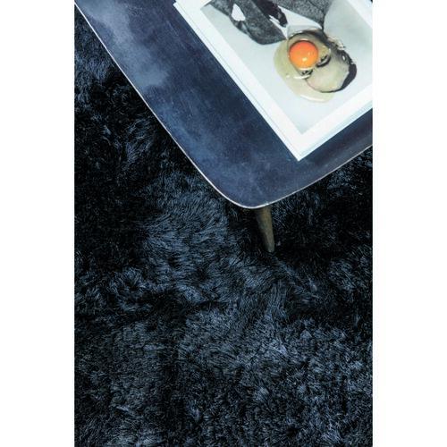 Ligne Pure darabszőnyeg Reflect Adore fekete, 140 x 200 cm
