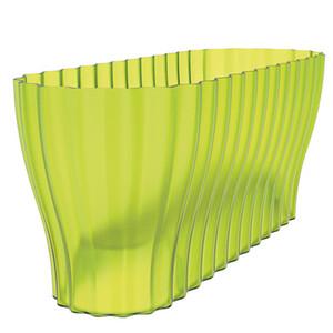 Truhlík Triola průsvitná zelená, Plastia