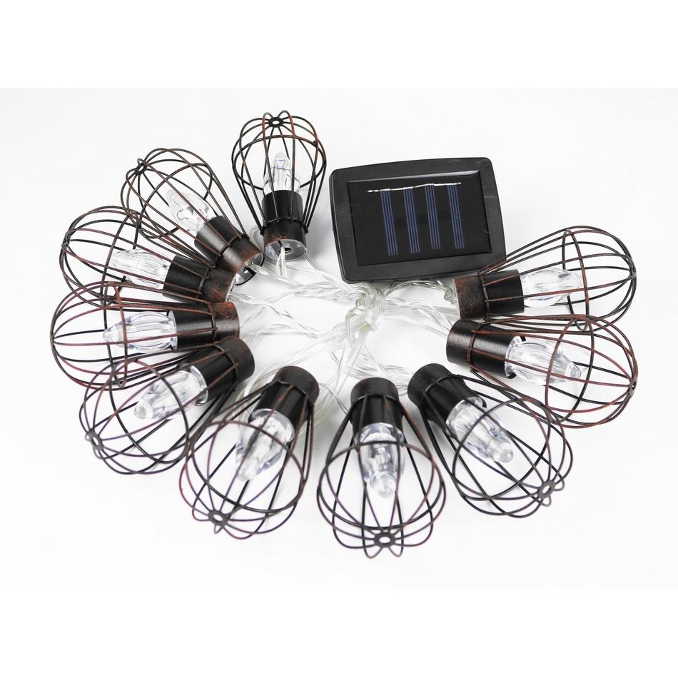 Solární osvětlení Lucerny, 10 LED