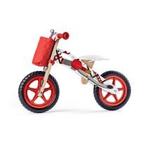 Woody Motocykl biegowy, czerwony