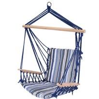 Fotel bujany wiszący Elba, niebieski