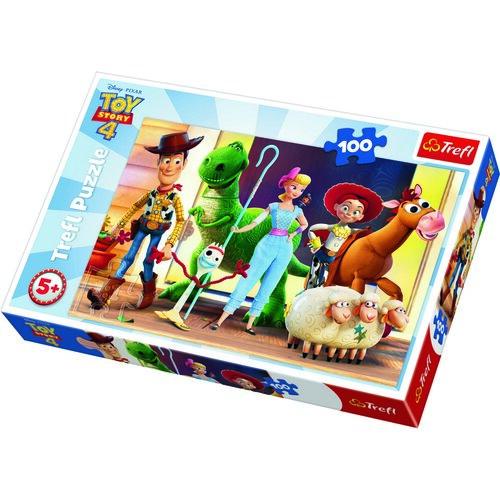 Trefl Puzzle Príbeh hračiek 4, 100 dielikov