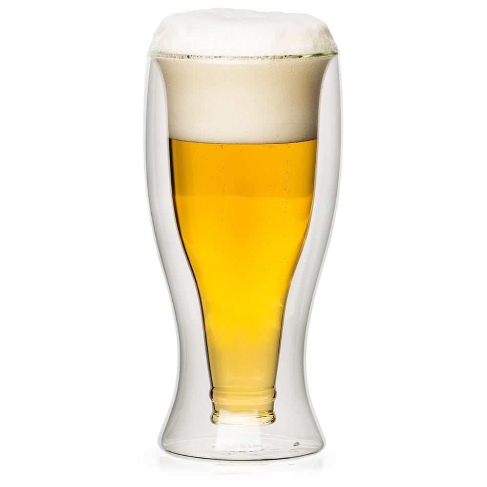 4home Termo sklenice na pivo Hot&Cool, 500 ml, 1 ks