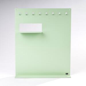 Organizér Keywall na klíče s magnetickou tabulí, zelený