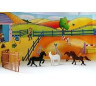 Kufřík poníci a koníci, vícebarevná