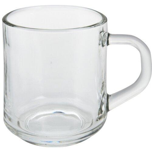 Excellent üveg kávéscsészék 240  ml, 3 db