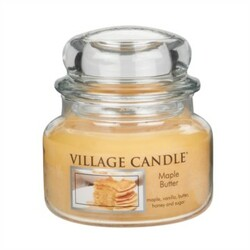 Village Candle Vonná svíčka ve skle, Javorový sirup - Maple Butter, 269 g, 269 g