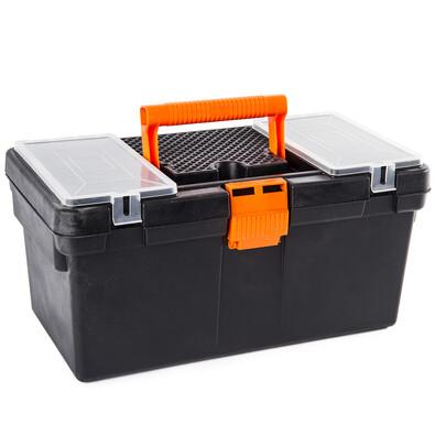 Přenosný box na nářadí a šroubky, 40 cm