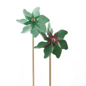 Větrník tyrkysová, pr. 17 cm