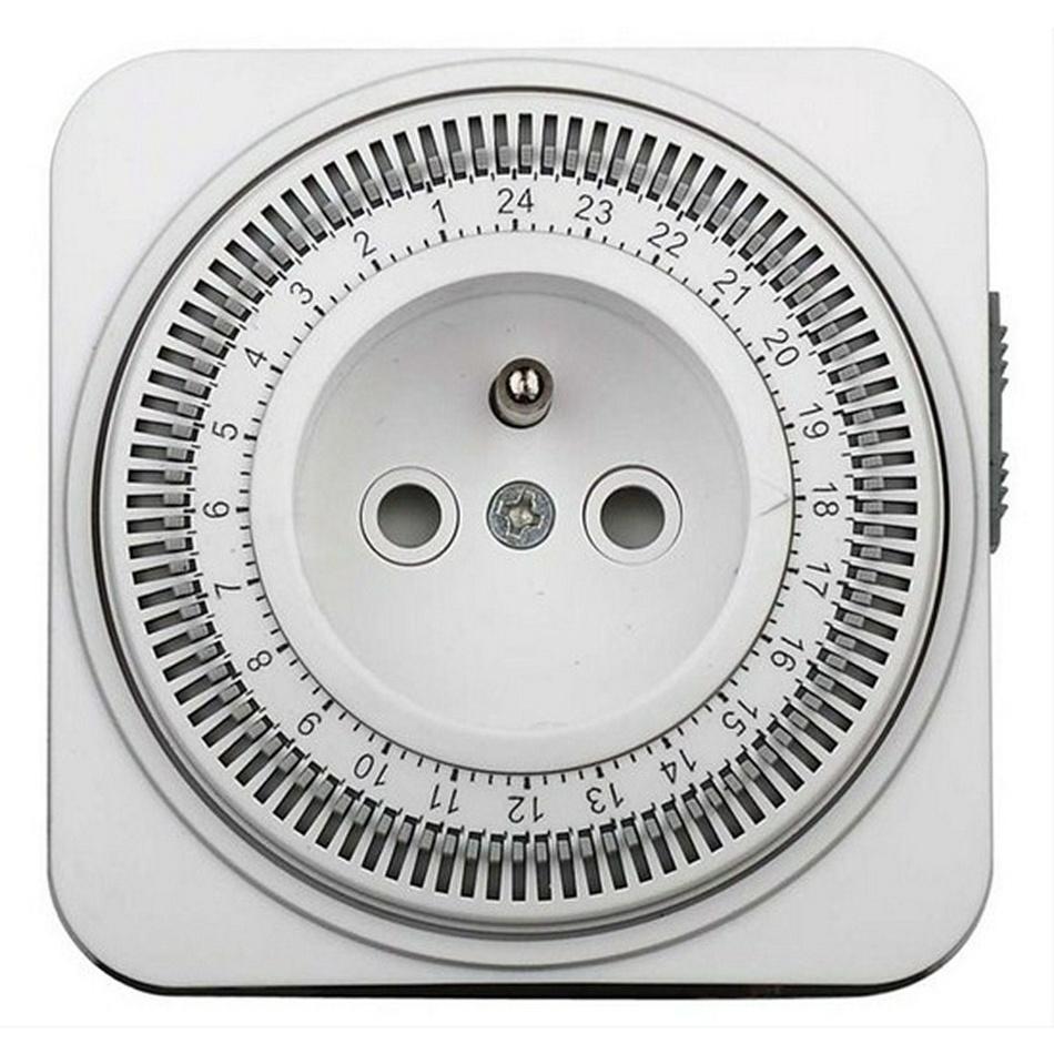 Solight przełącznik czasowy mechaniczny dobowy