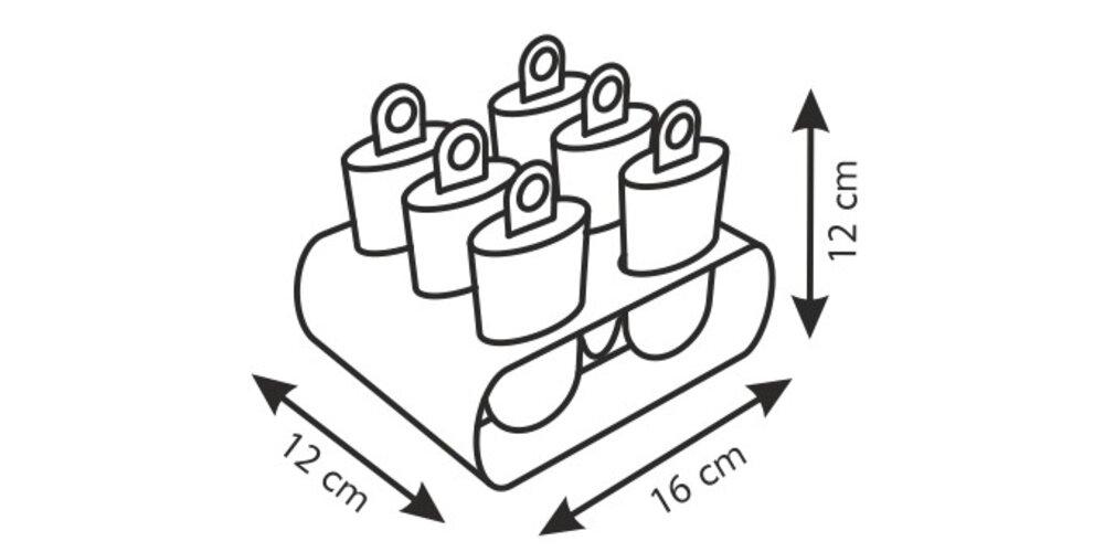 Tescoma BAMBINI formičky na zmrzlinu 6 ks