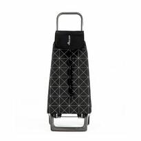 Rolser Nákupná taška na kolieskach Jet Star Joy, čierno-biela