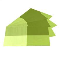 Podkładki DeLuxe zielony, 30 x 45 cm, zestaw 4 szt.