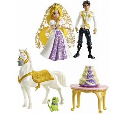 Locika svatební hostina Disney Mattel, vícebarevná