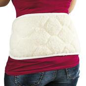 Vlněný ledvinový pás, 59 x 23 cm