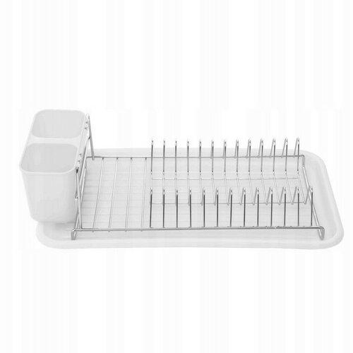 Florina Odkapávač na nádobí Stretto 44 x 24 x 12 cm, bílá