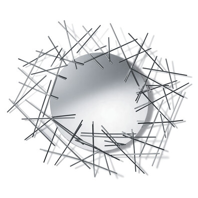Zrcadlo Blow Up stříbrné