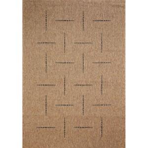 Spoltex Kusový koberec Floorlux coffee/black 20008, 60 x 110 cm