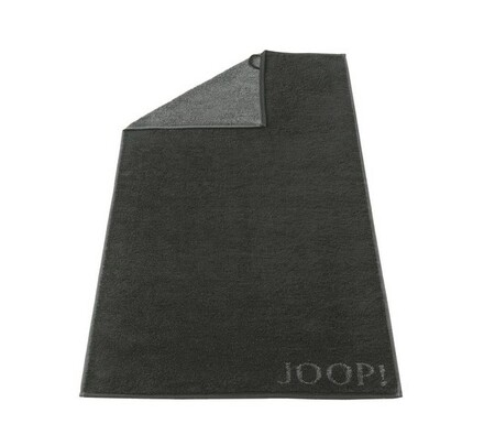 JOOP! ručník Doubleface černý, 50 x 100 cm