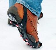 Protiskluzové přezky na boty
