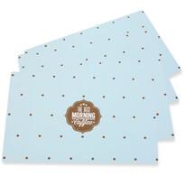 Altom Vintage blue alátét, 28 x 43 cm, 4 db-os készlet