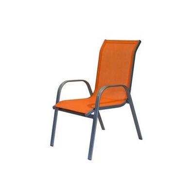 Zahradní židle oranžová