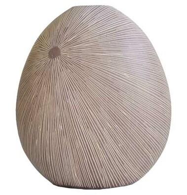 StarDeco Váza v přírodních barvách, 29,5 cm