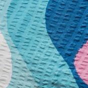 Krepové povlečení Pallas Vlnka, 140 x 200 cm, 70 x 90 cm